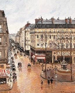 Calle Saint Honoré de Pissarro